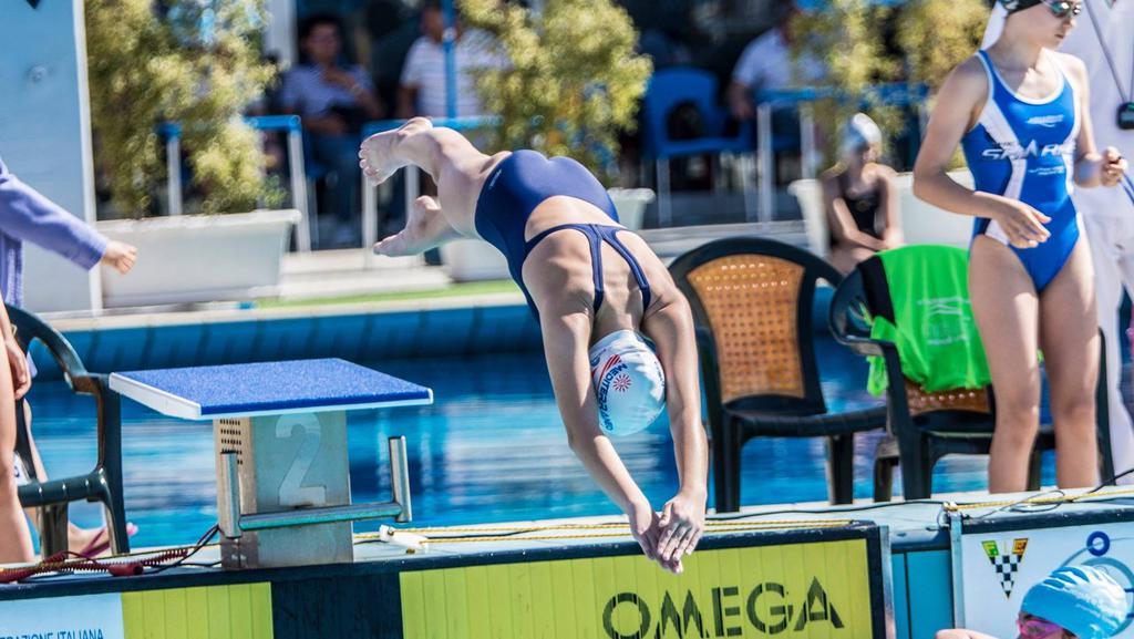 Nuoto esordienti a mediterraneo quarta ai campionati regionali - Piscina mediterraneo taranto ...