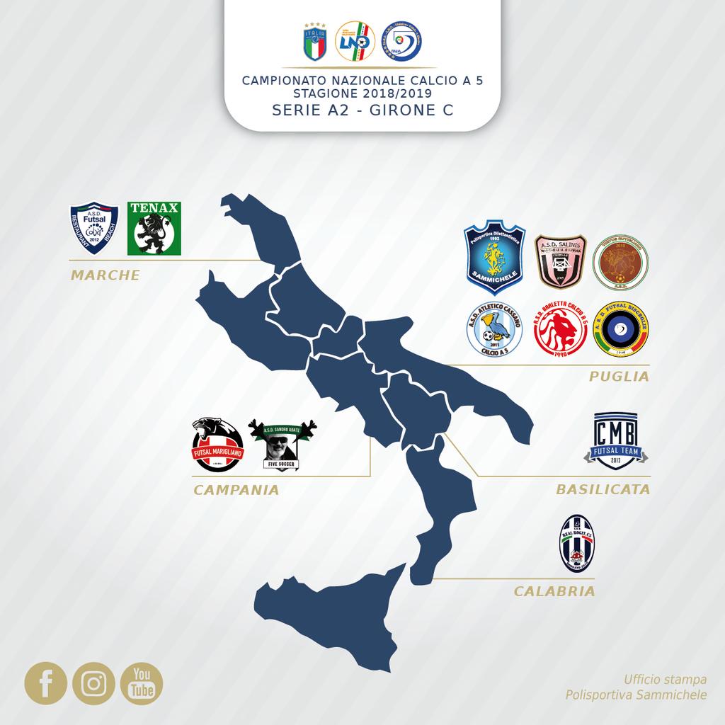 Serie A2 2018 19 Il Sammichele Nel Girone C