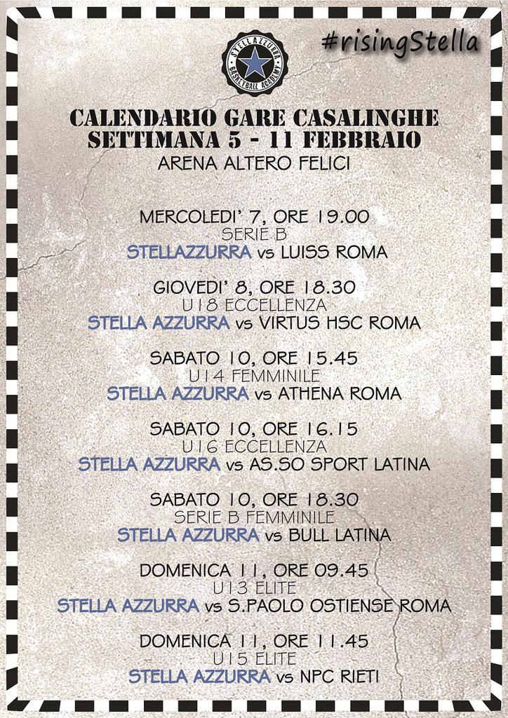 Calendario Serie B Femminile.Settimana Dell Arena Altero Felici Coi Riflettori Puntati Su
