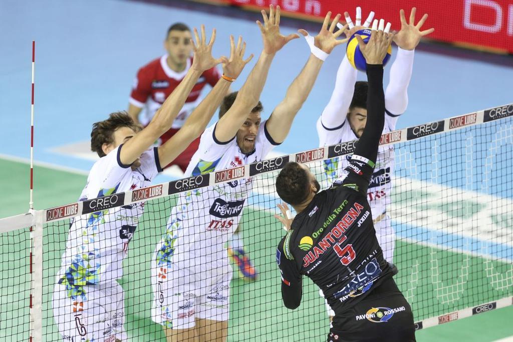 Calendario Playoff Volley.Ecco Il Calendario Dei Playoff Scudetto La Diatec Trentino