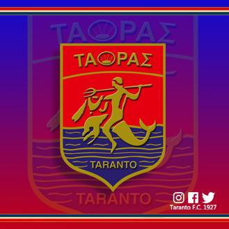 Il nuovo logo del Taranto voluto dal presidente Massimo Giove