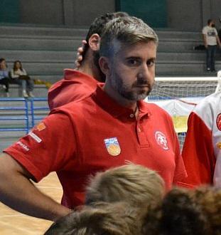 Danilo Martinelli, coach dell'U20 del Cus Jonico Taranto