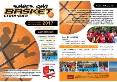 Bakery Basket Summer Camp a Cesenatico e Cervia