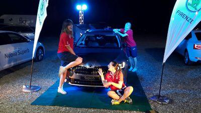 Silvia Lotti, Sara Loda e Enrica Merlo hanno scaldato i motori