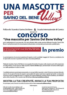 """Partecipa al concorso """"Una mascotte per Savino Del Bene Volley"""". Inviaci la tua idea e vinci una crociera MSC!"""