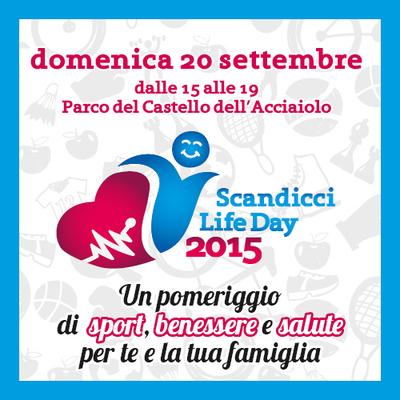 """""""Scandicci Life Day"""" si terrà il 20 settembre: Savino Del Bene presente!"""