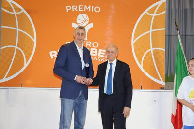 Oscar del basket, all'Academy Ambassador Tomas Ress il Premio alla Carriera