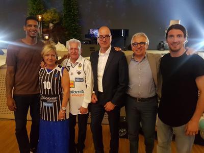 Forray e Gomes alla Cena di Gala della Fondazione Trentina per l'Autismo