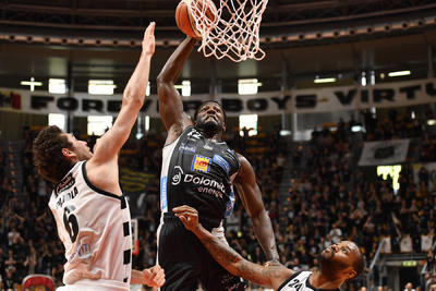 Dopo 4 vittorie consecutive arriva una sconfitta a Bologna 74-69