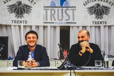 Trust Aquila, tanti appassionati all'evento con Buscaglia e Ferraro