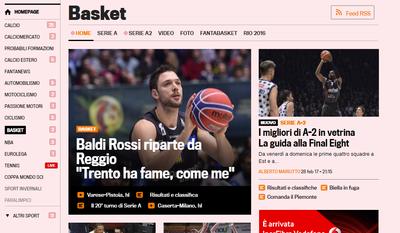 "Baldi Rossi ""si racconta"" a Repubblica.it e Gazzetta.it"