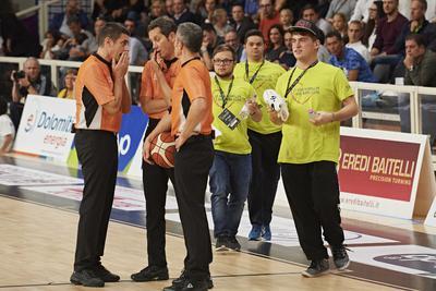 Domenica alla BLM Group Arena si gioca insieme ad ANFFAS Trentino