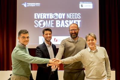 """""""Everybody needs some basket"""", al via il progetto con il contributo della Fondazione Caritro"""