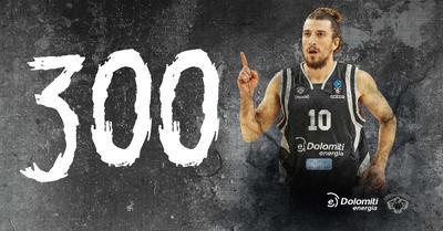 Toto Forray mercoledì festeggia le 300 partite in maglia Aquila!