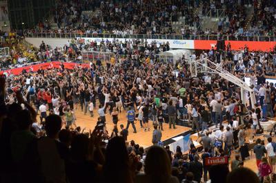 Dalla D all'Europa in 20 anni: guarda il documentario su Aquila Basket trasmesso da Sky