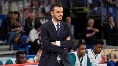 Dolomiti Energia, ufficiale l'arrivo di coach Nicola Brienza
