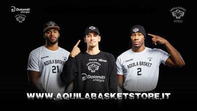 Ecco l'Aquila Basket Store Online!