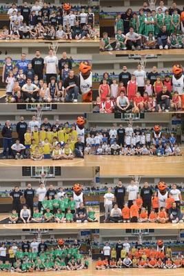 Al PalaTrento la festa minibasket con i giocatori di Aquila Basket