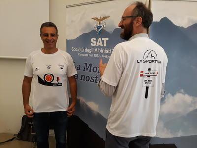 """""""Vivila tutta"""": sabato sul Monte Bondone con Luca Lechthaler, SAT e Fondazione Hospice"""