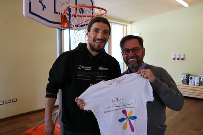 """Sabato alla BLM Group Arena si celebra il """"Blue day"""" insieme alla Fondazione Trentina per l'Autismo"""