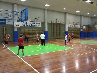 Dolomiti Energia Academy, Marchini ospite della Pall. Villazzano