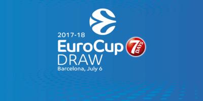 Eurocup: giovedì il sorteggio. Dolomiti Energia in quarta fascia