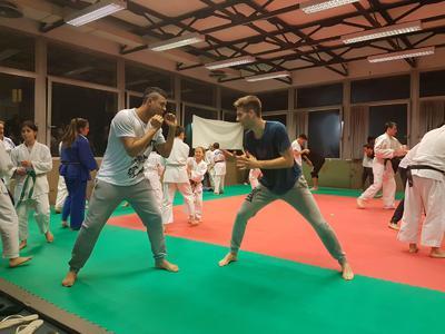 U18, allenamenti di judo per migliorare la gestione dei contatti