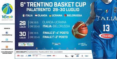 L'Italia di Gallinari e Belinelli all'esordio domani al PalaTrento