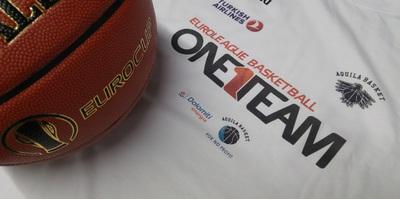 """""""One Team, One World"""": presentato il progetto bianconero nell'ambito del programma di Euroleague Basketball"""