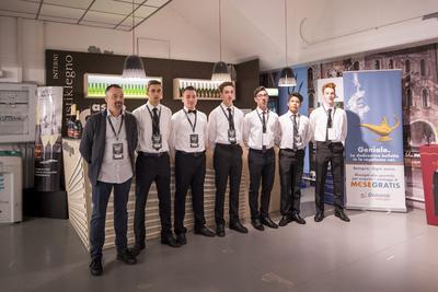 La professionalità dei ragazzi dell'Alberghiero di Levico e Rovereto nella hospitality bianconera