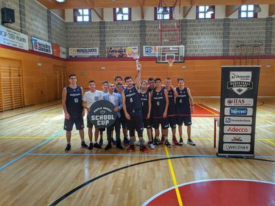"Al ""Marie Curie"" di Pergine la prima Aquila Basket School Cup!"