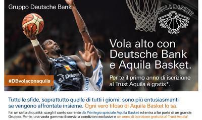 Apri un conto con Deutsche Bank: la banca ti offre l'iscrizione Trust