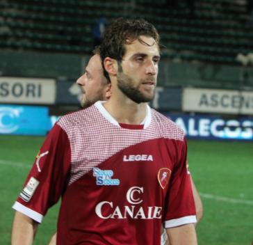 Gaetano Ungaro con la maglia della Reggina