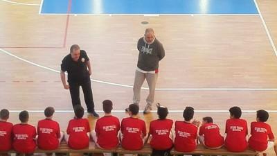 """Coach Granziero """"catechizza"""" i suoi durante la gara di Gardolo"""