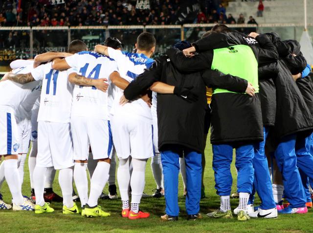 I biancoazzurri in gruppo, foto: Nino Russo