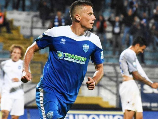 Il centrocampista Giacomo Casoli, foto: Sandro Veglia