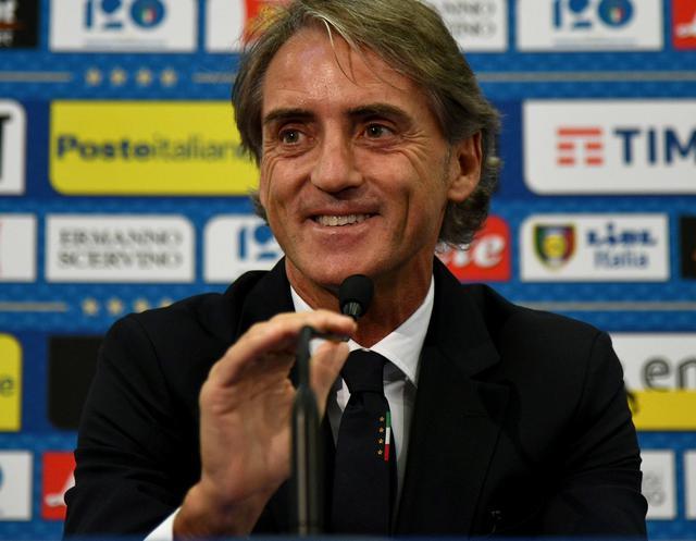 Il neo commissario tecnico Roberto Mancini, foto: Figc.it