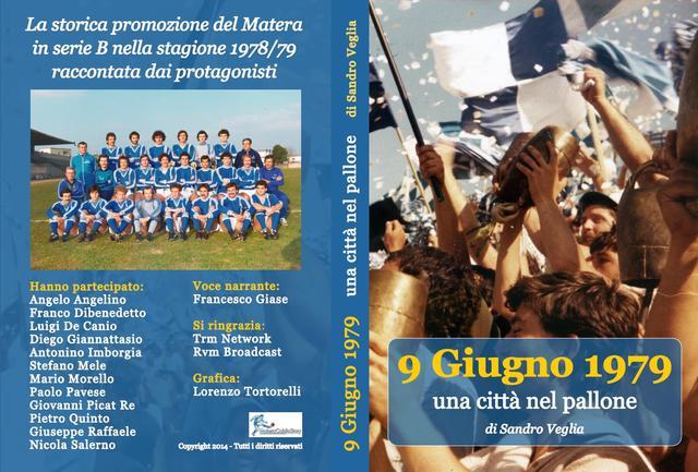 La copertina del dvd, FOTO: MATERACALCIOSTORY.IY - LORENZO TORTORELLI