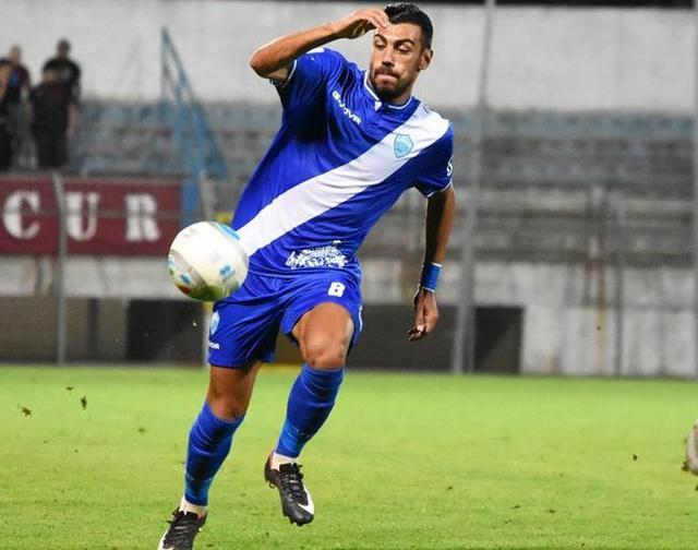 Il centrocampista Agatino Garufi, foto: Sandro Veglia