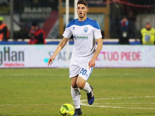 Il centrocampista Giuseppe Maimone, foto: Nino Russo