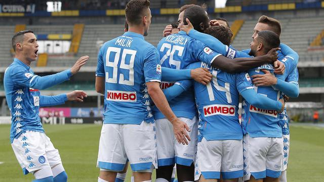 L'esultanza del Napoli, foto: Fonte Web
