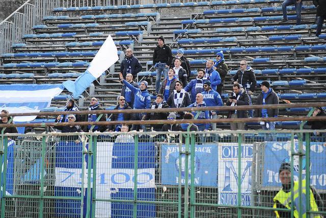 I tifosi biancoazzurri, foto: Mirco Sorrentino