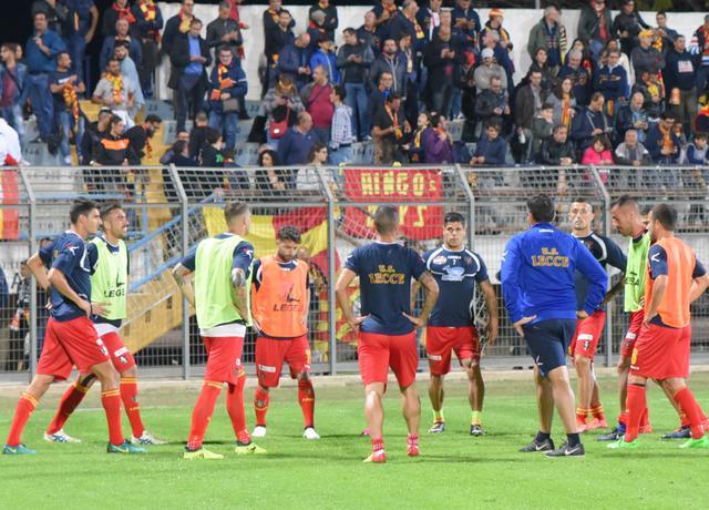 l'allenamento del Lecce al XXI Settembre, foto: Emanuele Taccardi