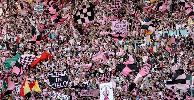 I tifosi del Palermo, FOTO: FONTE WEB