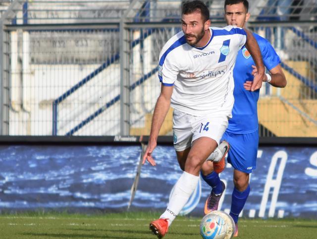 Il centrocampista Manuel Ricci, foto: Sandro Veglia