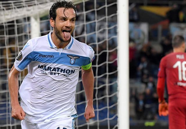 L'esultanza di Marco Parolo, foto: Uefa.com
