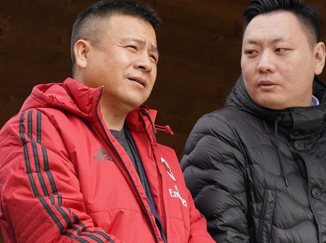 La famiglia Li, foto: AcMilan.com