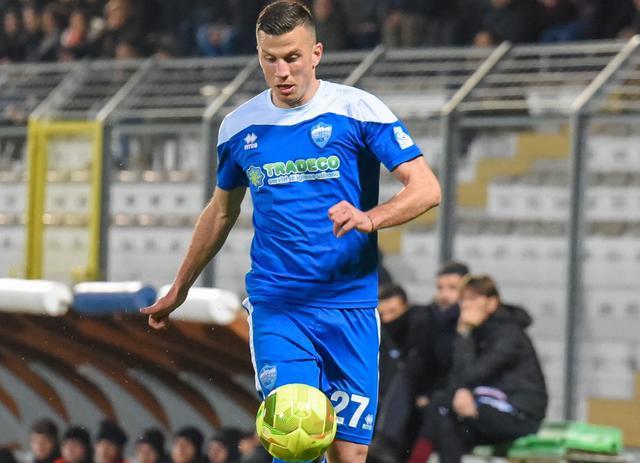 Il centrocampista Giacomo Casoli, foto: Emanuele Taccardi