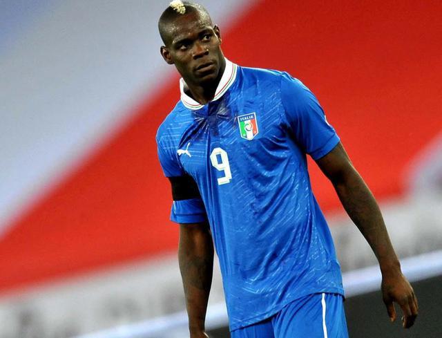 L'attaccante Mario Balorelli, foto: Fonte Web