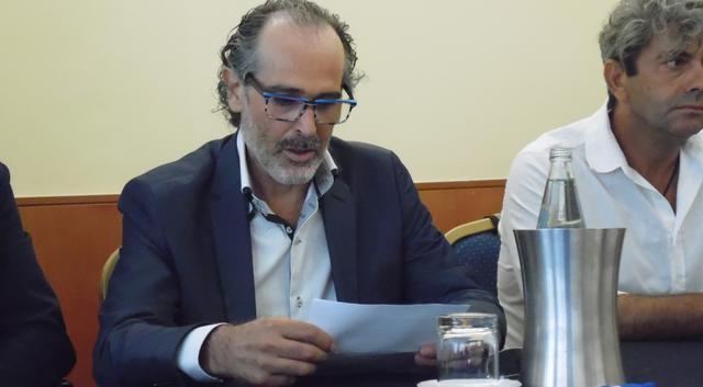 Il presidente Fortunato Martoccia del Città dei Sassi, FOTO: TUTTOMATERA.COM